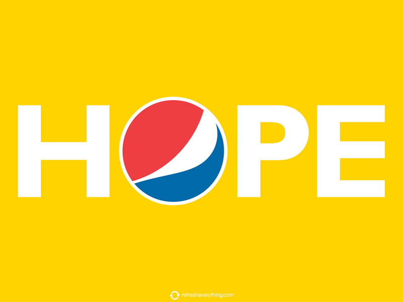 "The new campaign of ""Pepsi"""